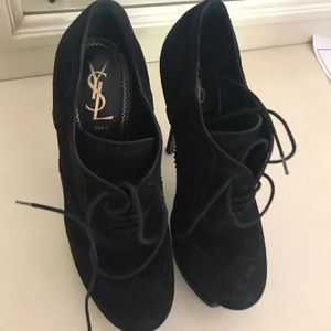 Ysl bootees